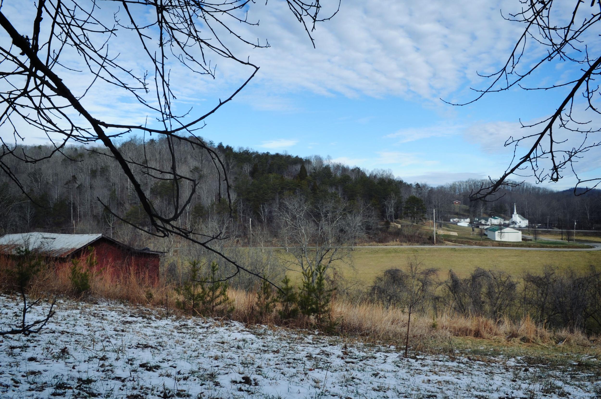 my grandparents farm in West Virginia