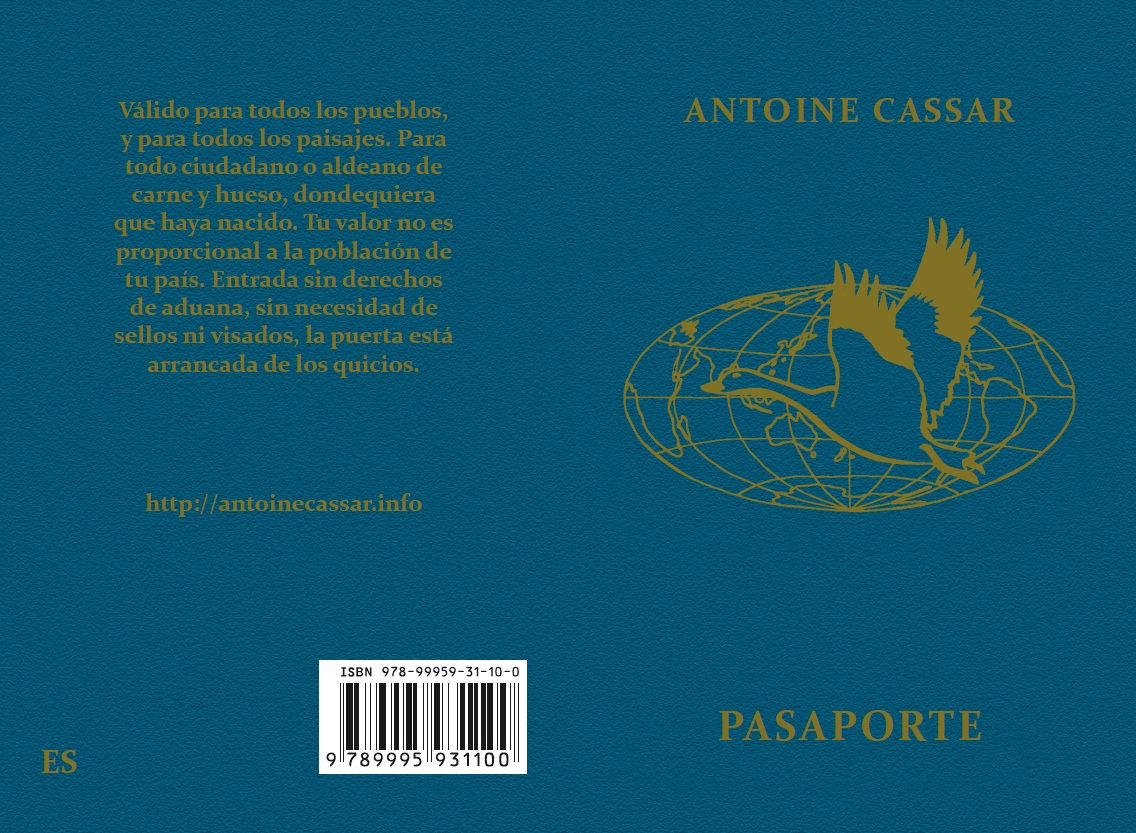 """El """"Pasaporte"""" en castellano. Adaptado por Carmen Herrera & Antoine Cassar (2ª edición)."""