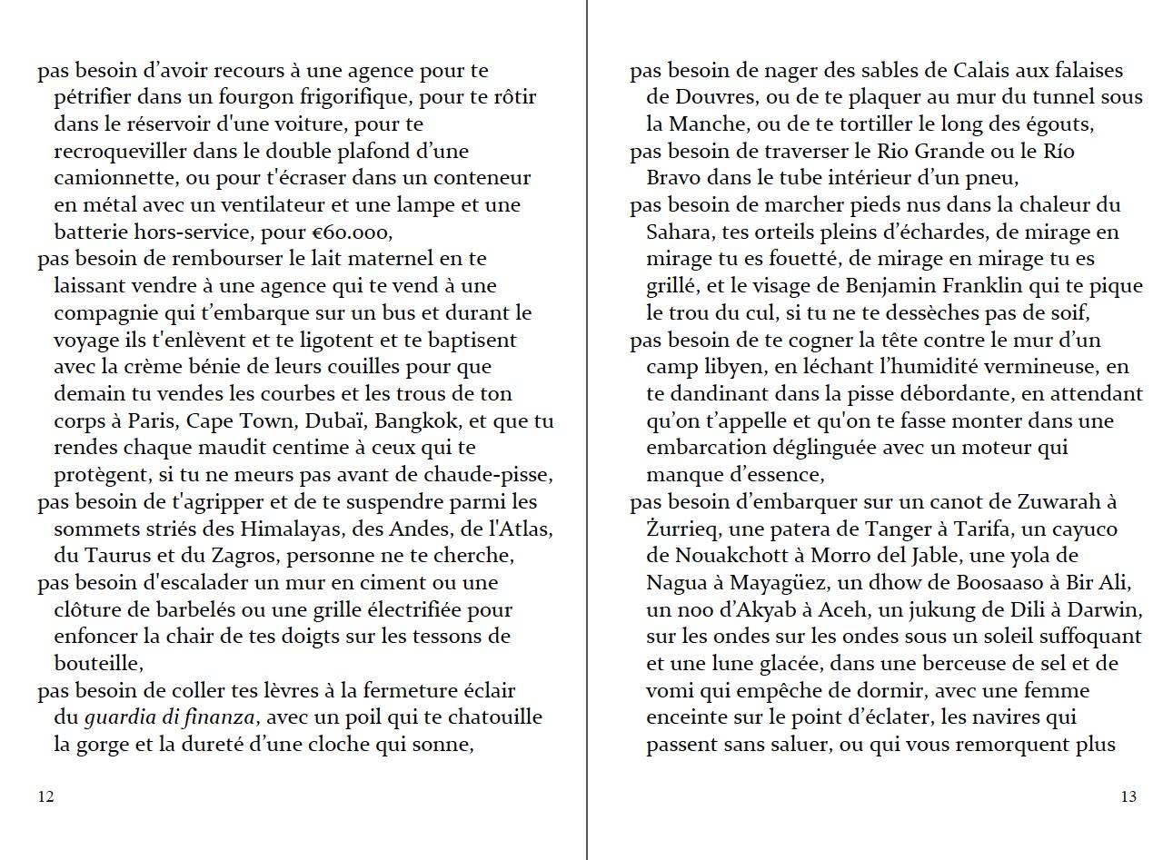 """p. 12-13 du """"Passeport"""" en français. Adapté par Elizabeth Grech (6ème édition)."""