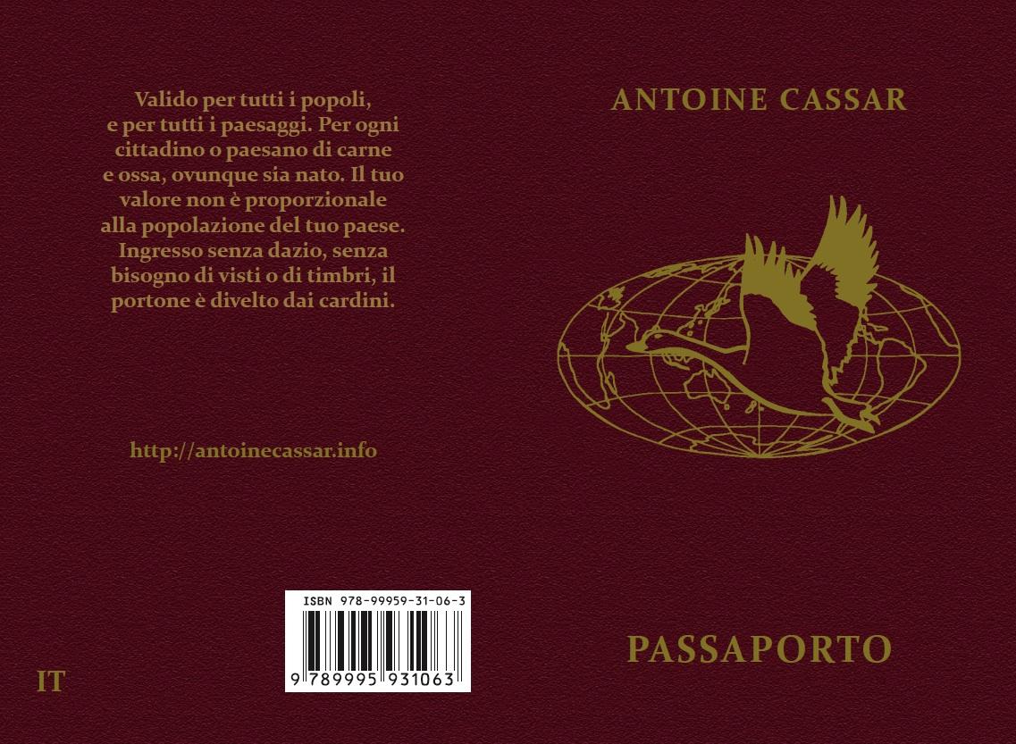 """Il """"Passaporto"""" in italiano. Adattato da Biagio Lieti & Antoine Cassar (3ª edizione)."""