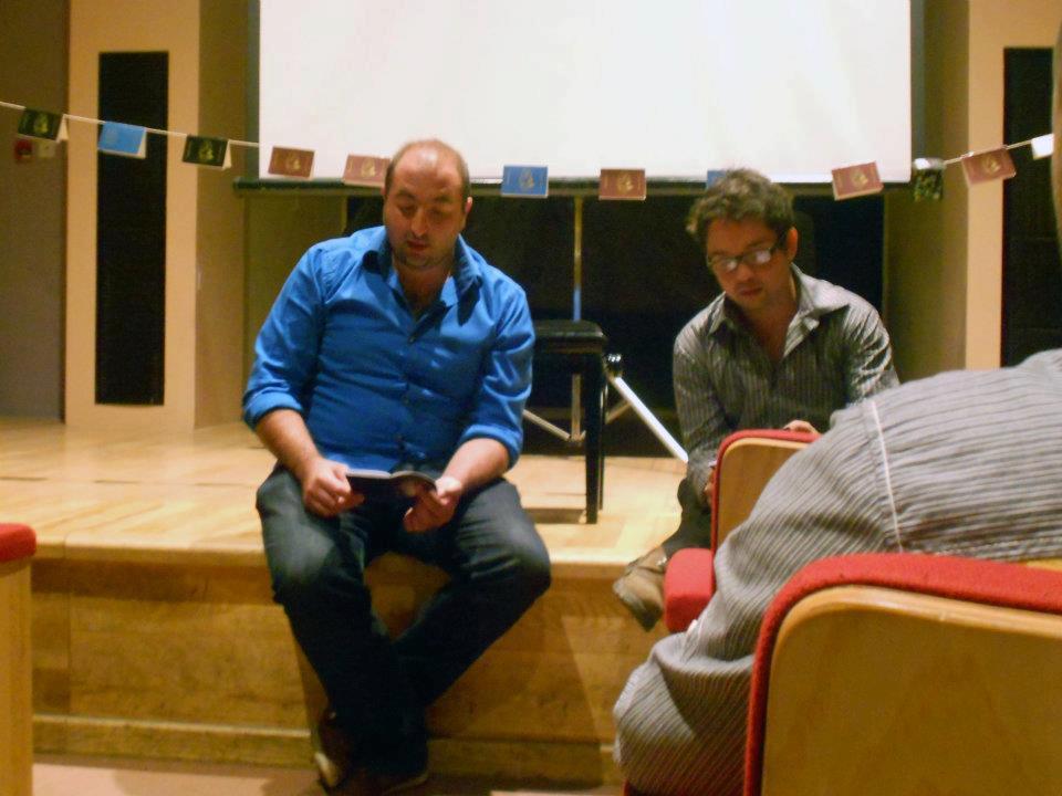 Éire Stuart, The Writers' Club, Valletta (Malta), April 2012