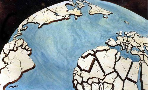 'Cracking World', by Medi Belortaja