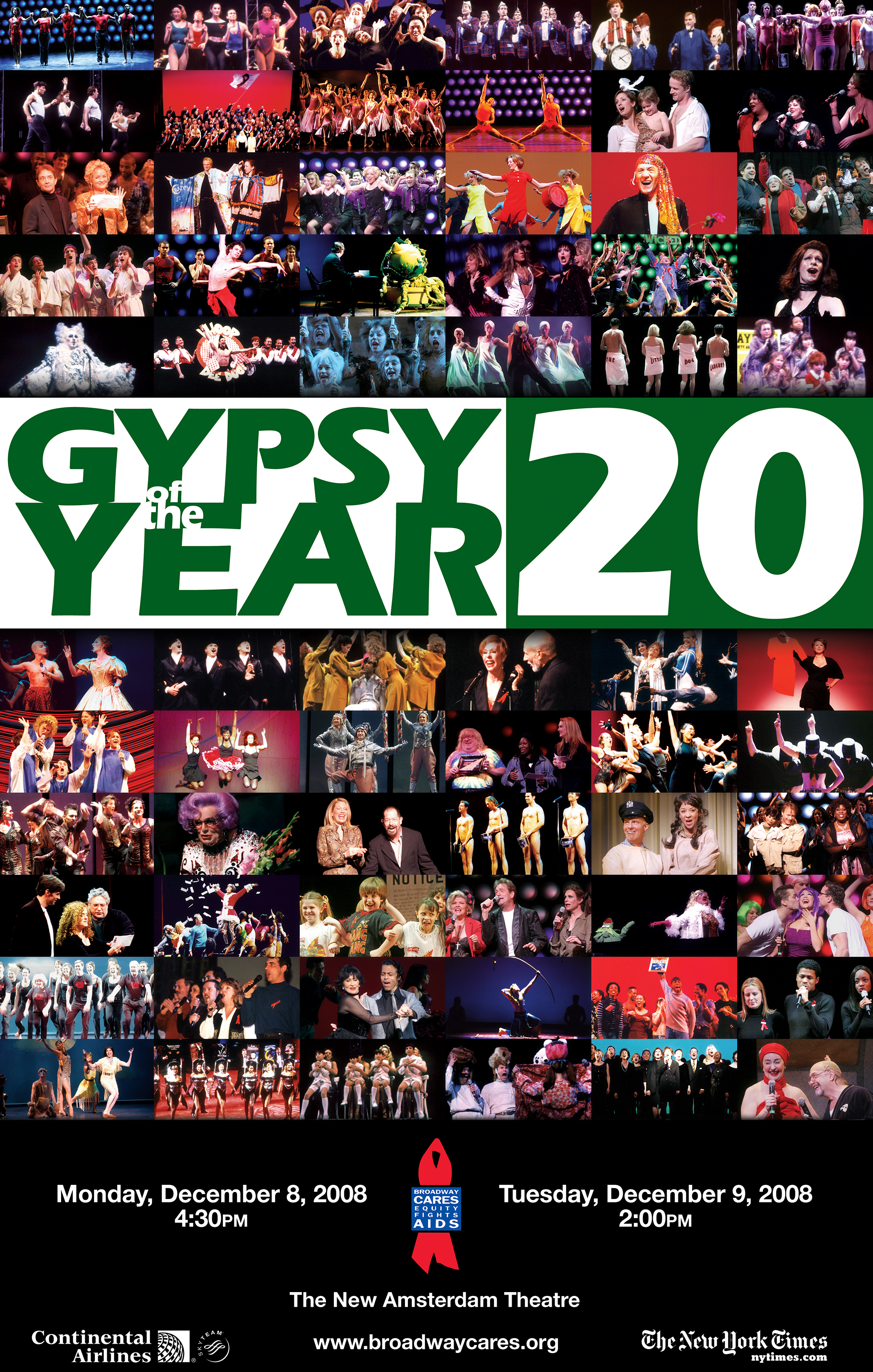 Gypsy of the Year 20 Poster