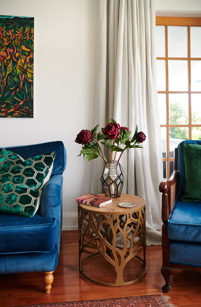 A beautiful side table spied by Marilyn and sourced by Bibby + Brady   | photo:    Florence Charvin