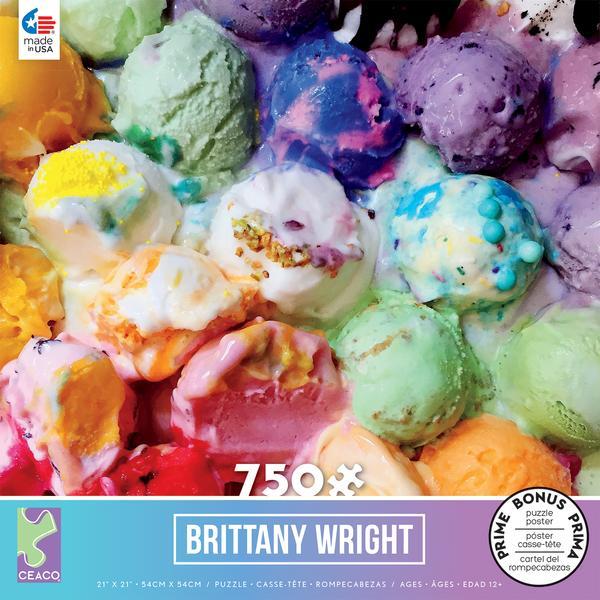Ice Cream Gradient Puzzle -