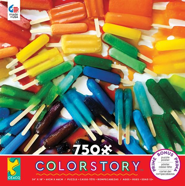 Melted Popsicle Puzzle -
