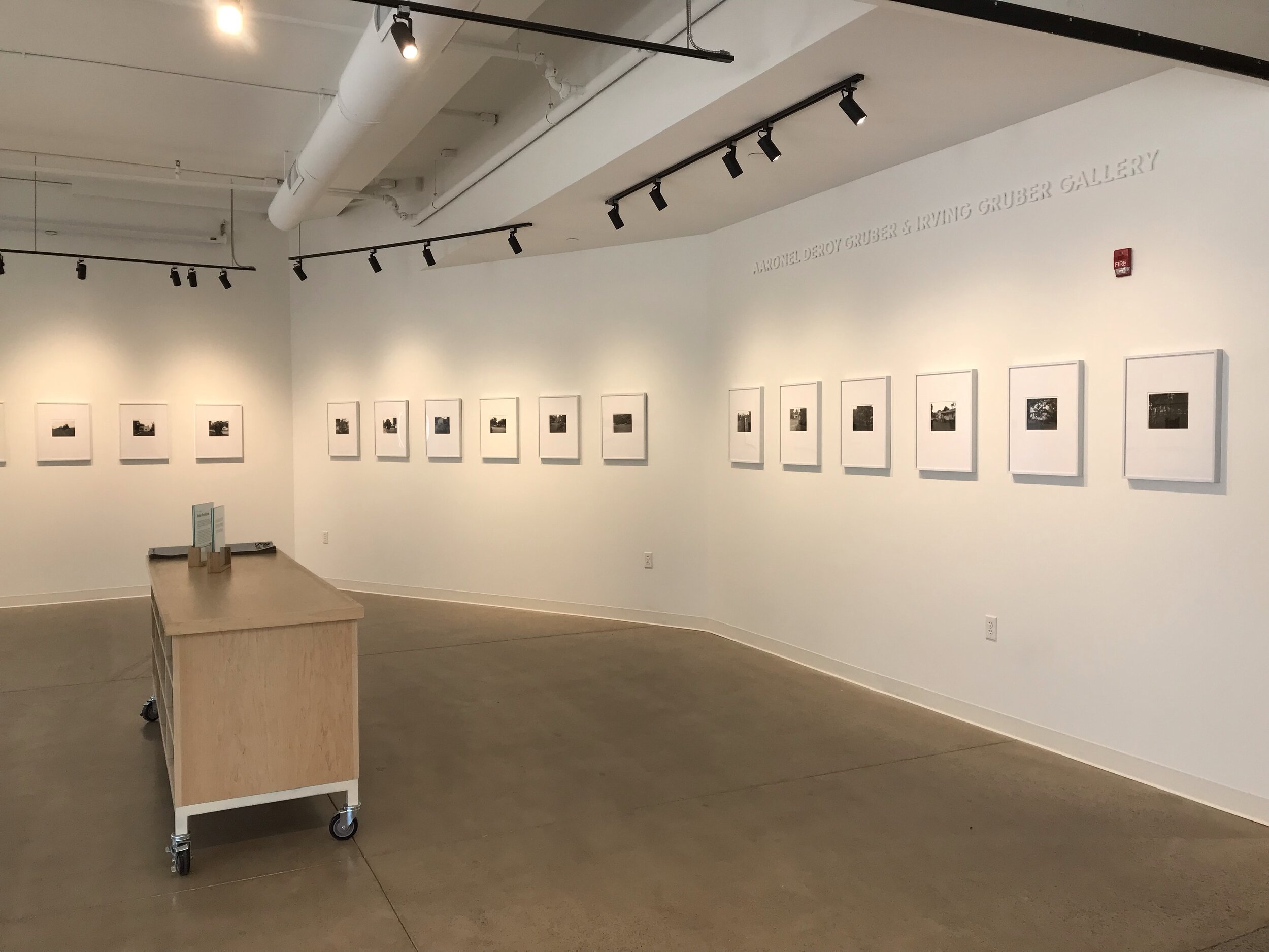 """Installation of """"The ancien regime"""" at Silver Eye Center for Photography, Pittsburgh, Pennsylvania."""