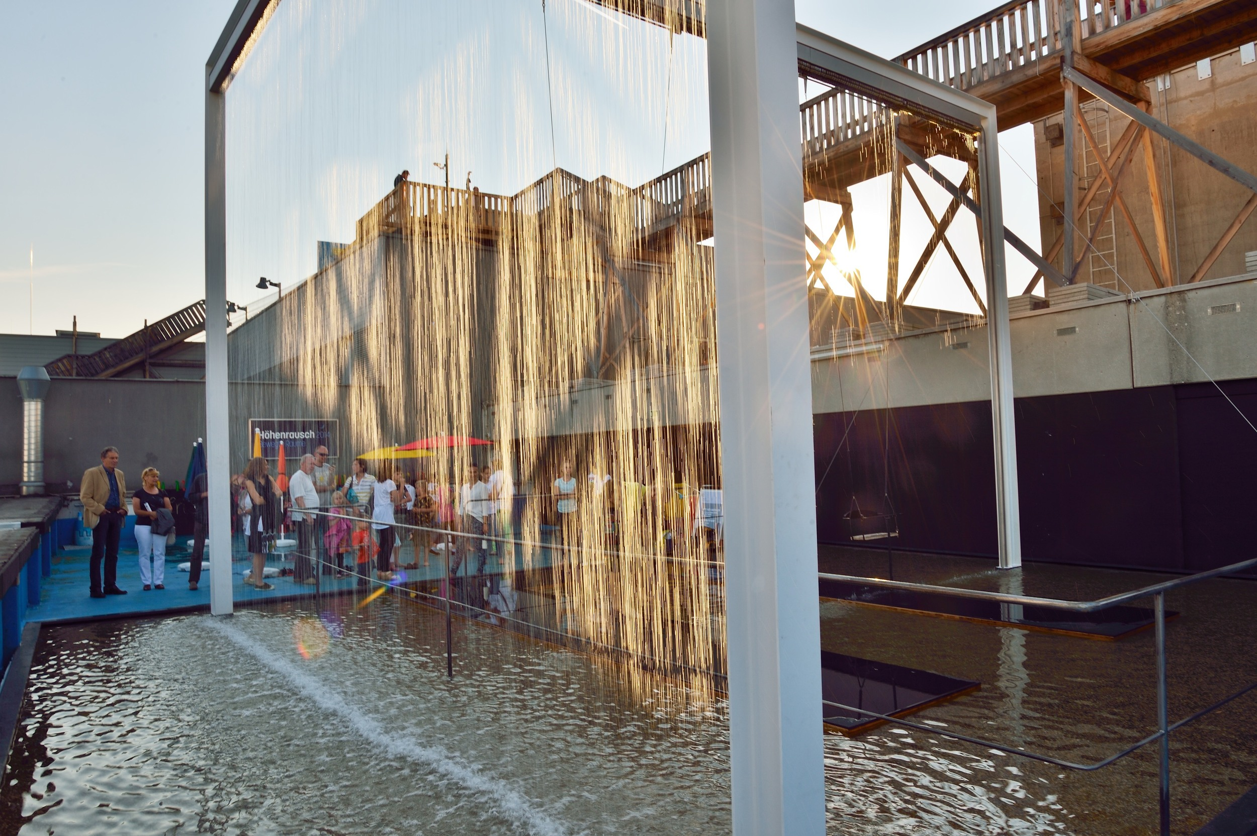 Waterfall Swing at OK Center for Contemporary Art