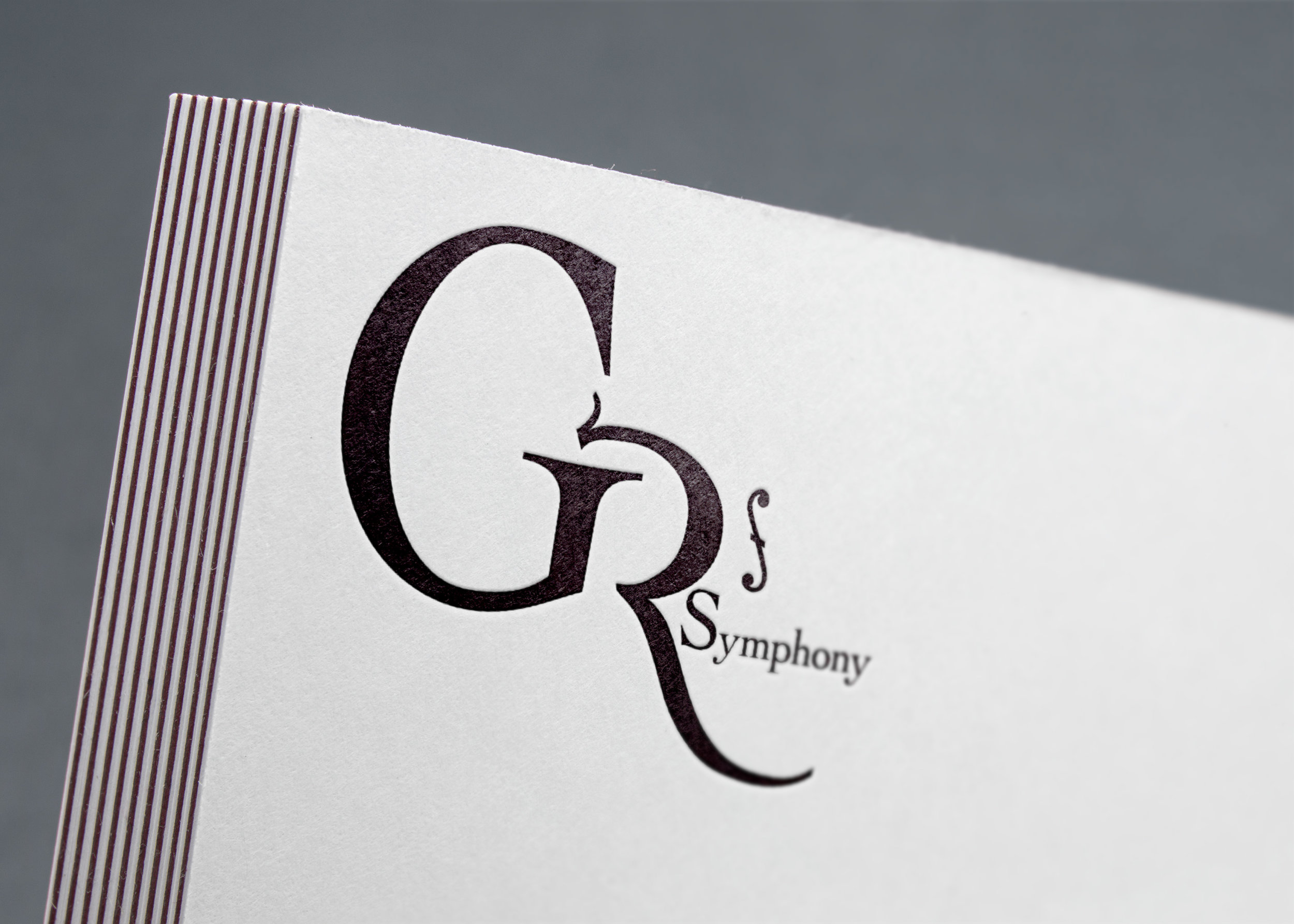 Grand Rapids Symphony Logo Mockup