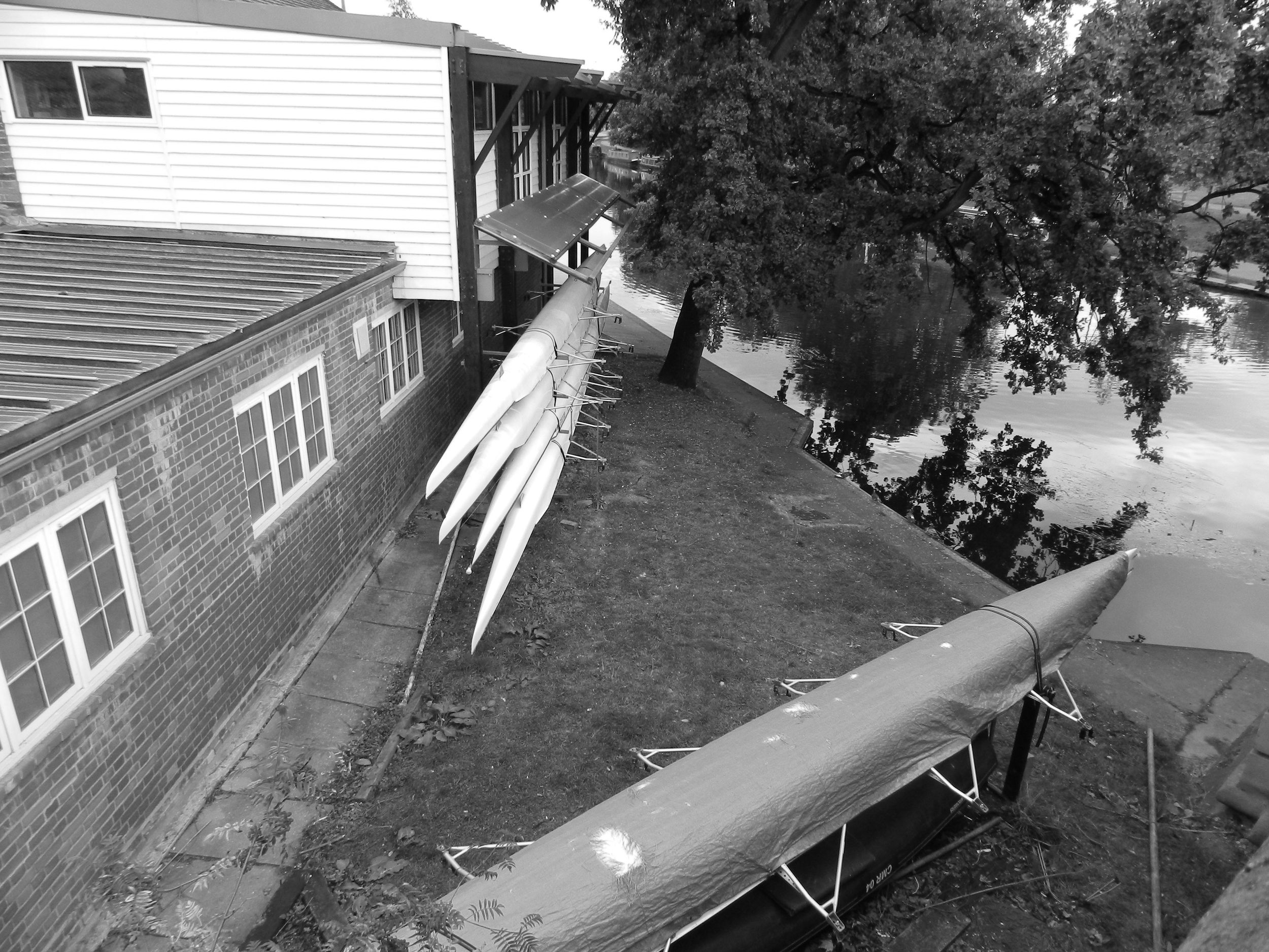 Queen's College Boat House