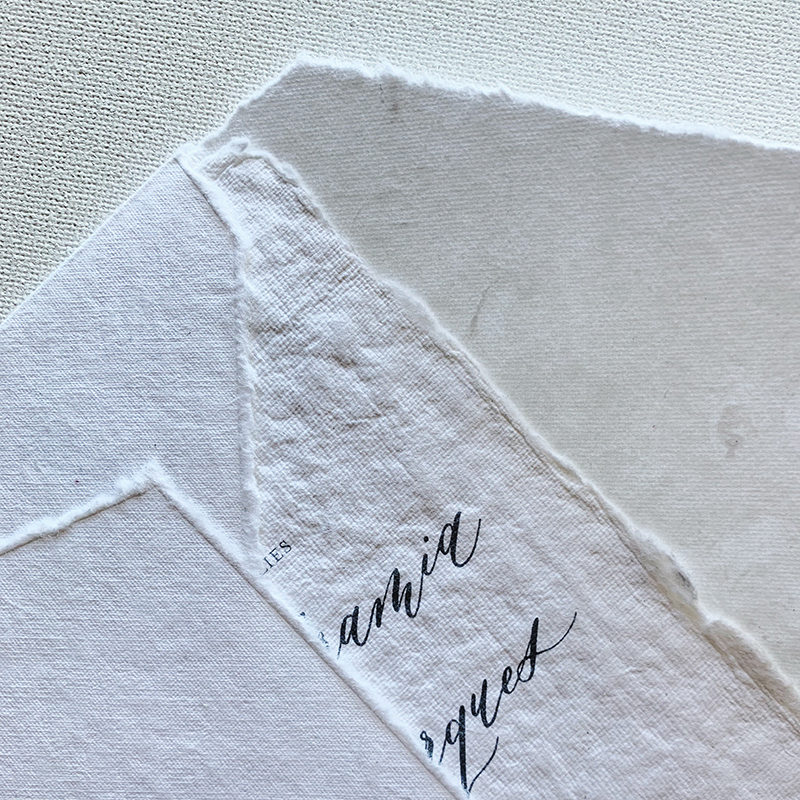 Handmade Paper Envelopes - from $4 / blank envelopefrom $5 / with printed return addressAvailable in a range of colours.