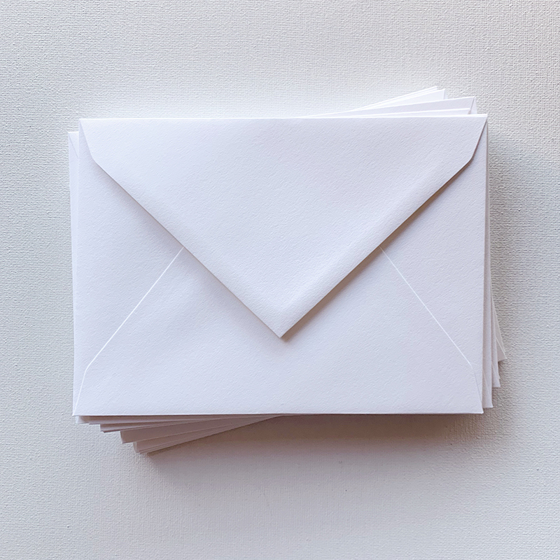 Standard Envelopes - from $1 / blank envelopefrom $1.5 / with printed return addressAvailable in a range of colours.