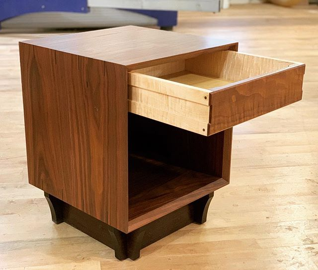 Our stylishly designed and deliciously hidden Qube, meticulously crafted by hand right here in New Hampshire 🔥 What will you hide in plain sight? Check out our website for more info, and get in touch with us today 😄 #hidden #hiddencompartment #hiddeninplainsight #furniture #furnituredesign #heirloomfurniture #bespokefurniture #handmadefurniture #secretagent #jamesbondstyle #interiordesign  #tacticalgear #security