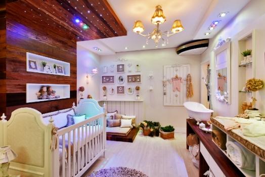 Um lindo quarto de bebê!
