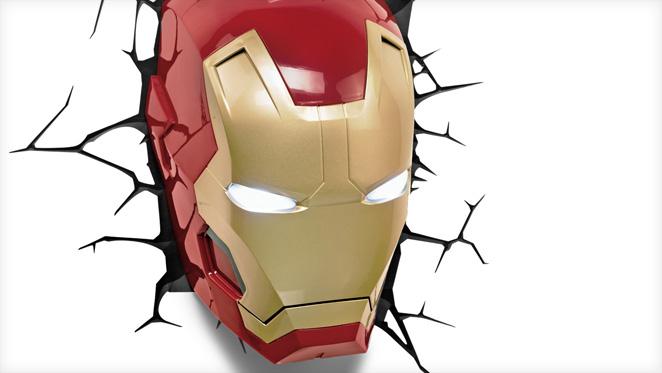 Homem de ferro - capacete