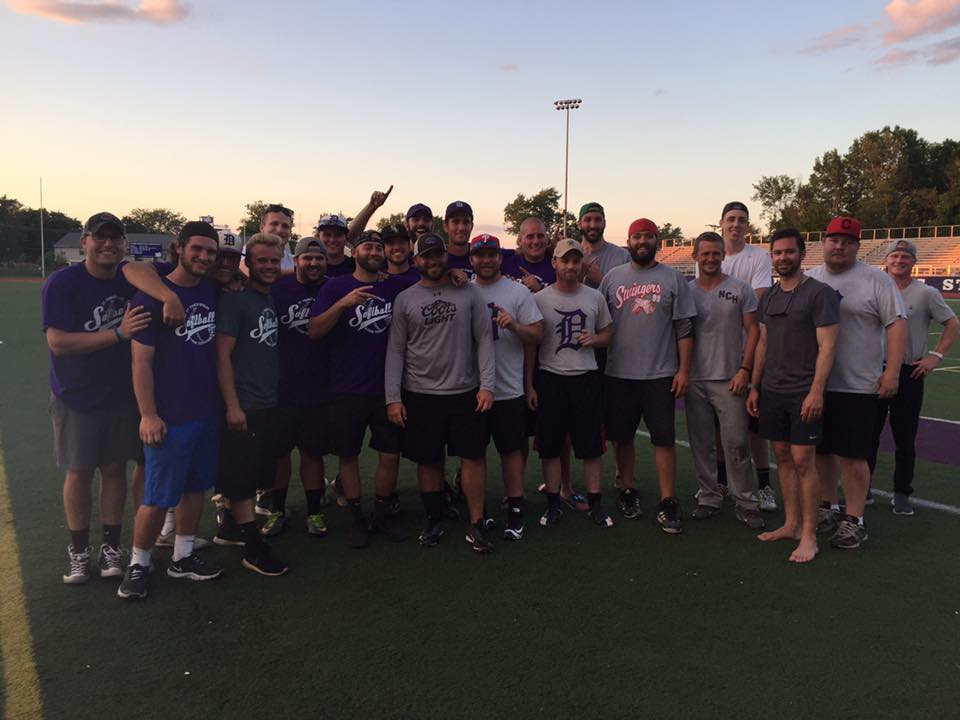 2017 Alumni Softball Tournament Champions  Class of 2007, pictured with Class of 2011-2014