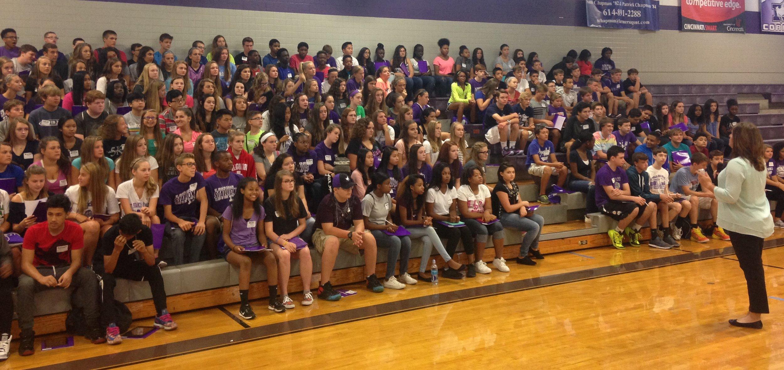 The Class of 2019 Freshmen Orientation - August, 2015
