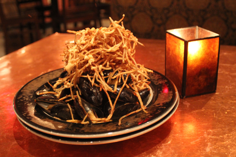Mussels from the Portsmouth Gas Light