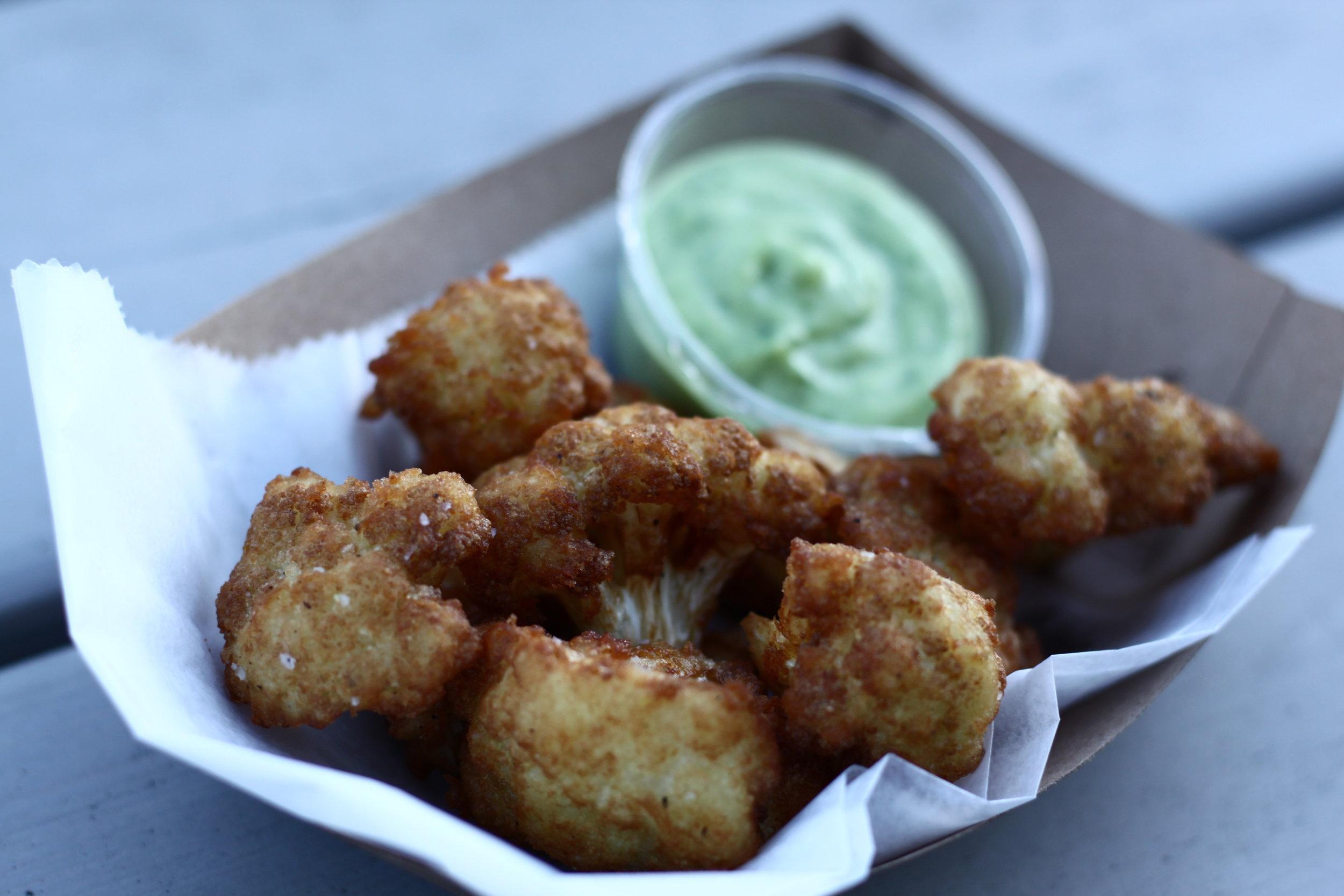 In fried cauliflower we trust.