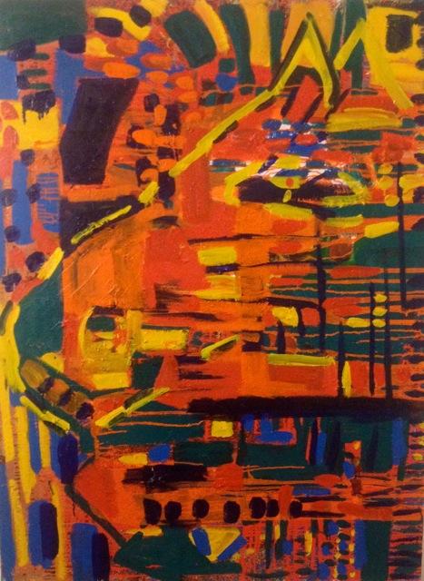 "Sunrise (Oil 48""x36"")"