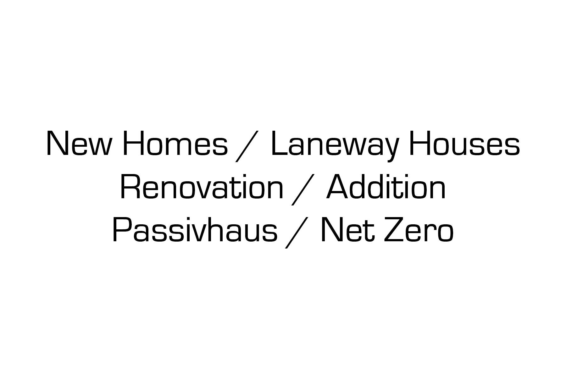 multigenerational family homes | laneway houses | passive house | energy efficient | west coast modern | mid-century | Intergenerational family home