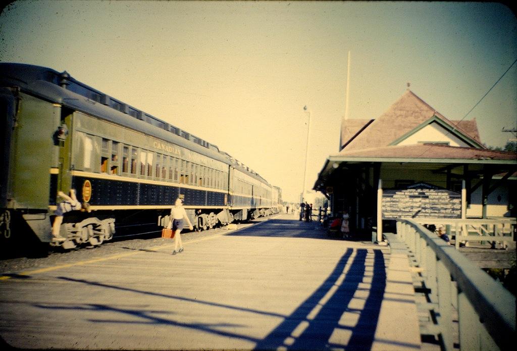 Original VB Train Station, circa 1950