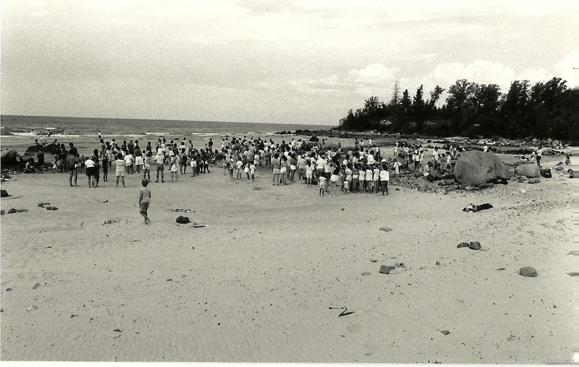King Edward Beach, circa 1985