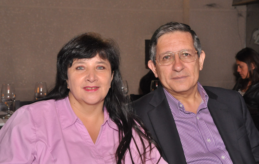 Ana Claudia Obando y Roberto Ospina