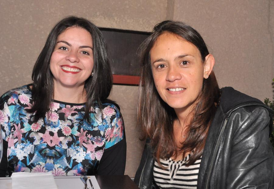 Mónica Pedraza y Ángela Mora