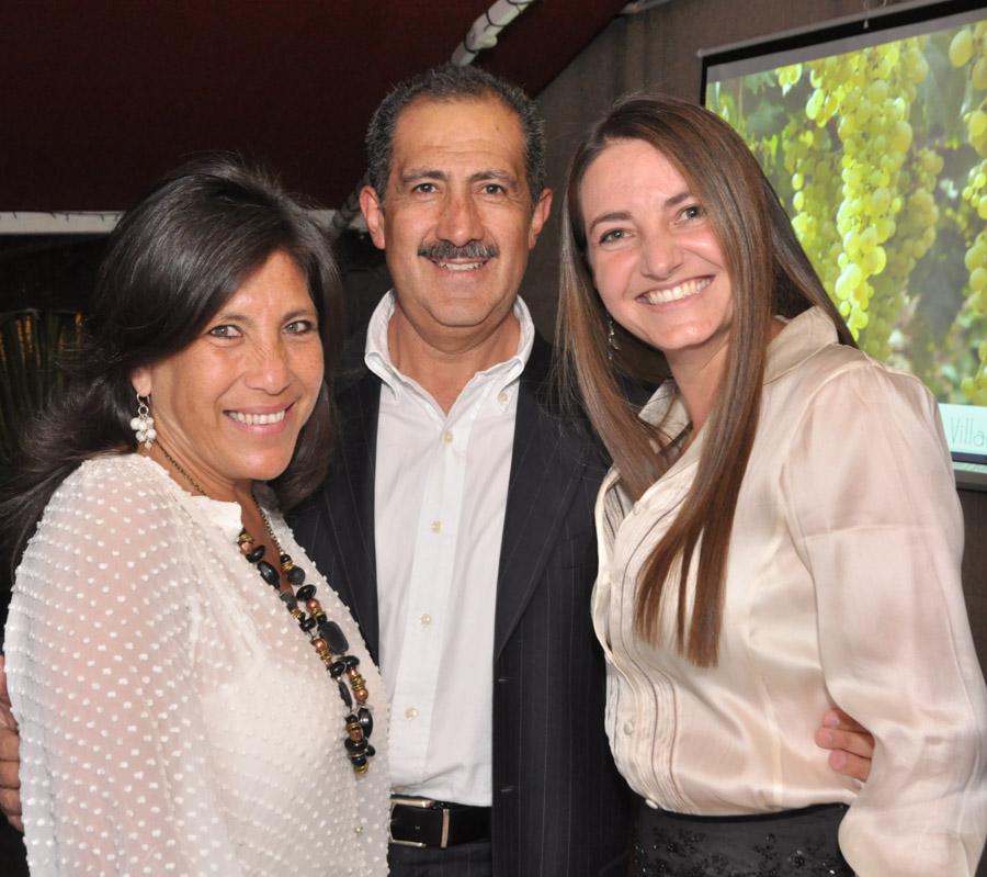 Catalina Rugeles, Fernando Bonilla y Lucero Villagarcía