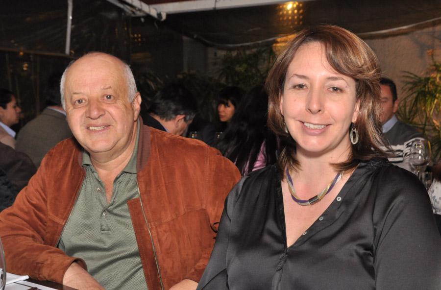 Leo Vigildo Caro y Sandra Villamil