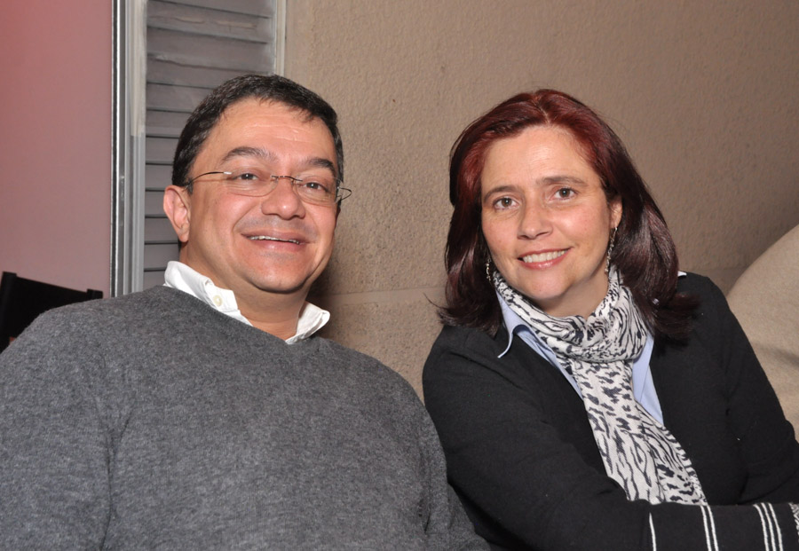 Ricardo Buitrago y María Fernanda Ortega