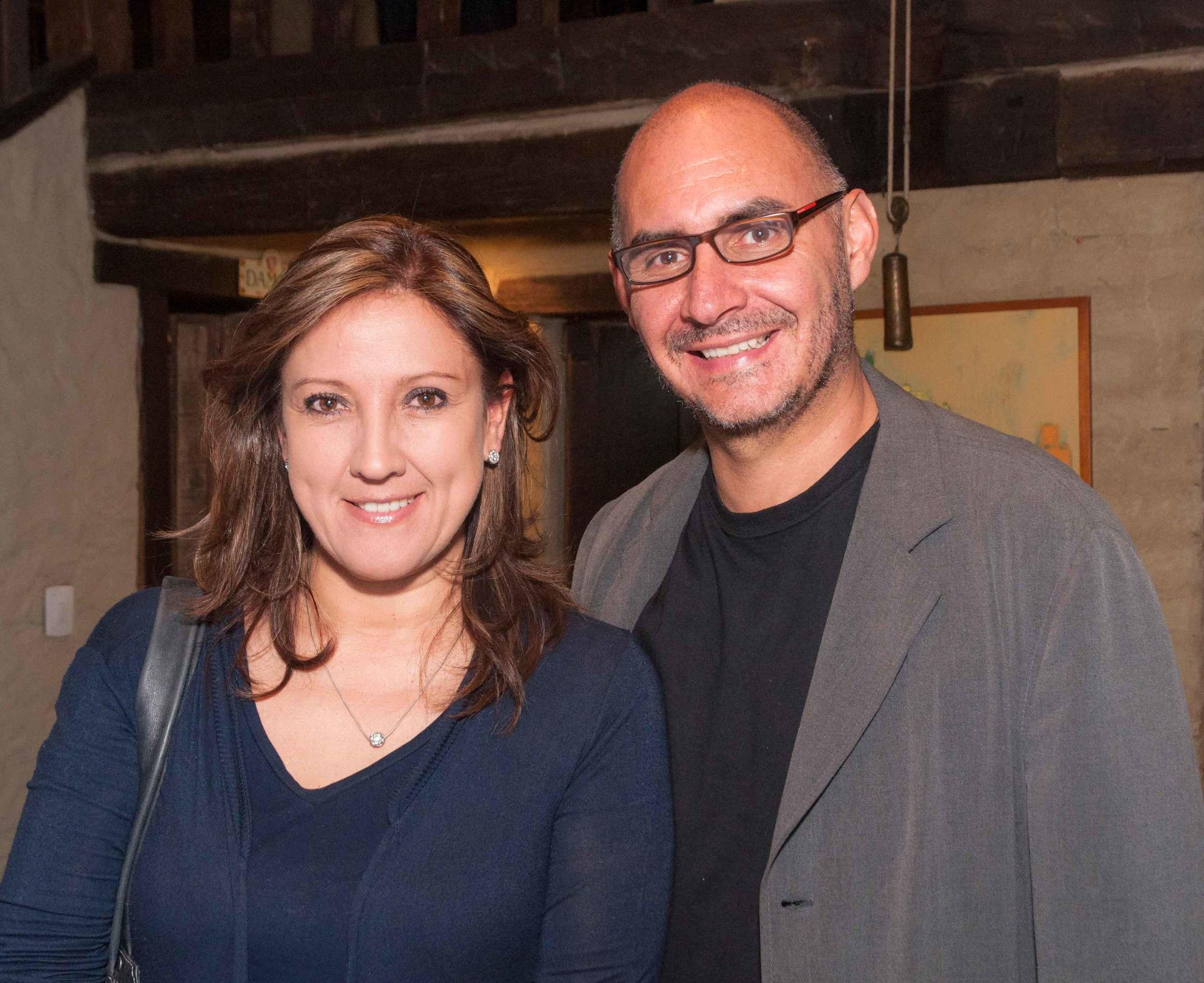 Clara Vergara Rojas y Mario Prieto
