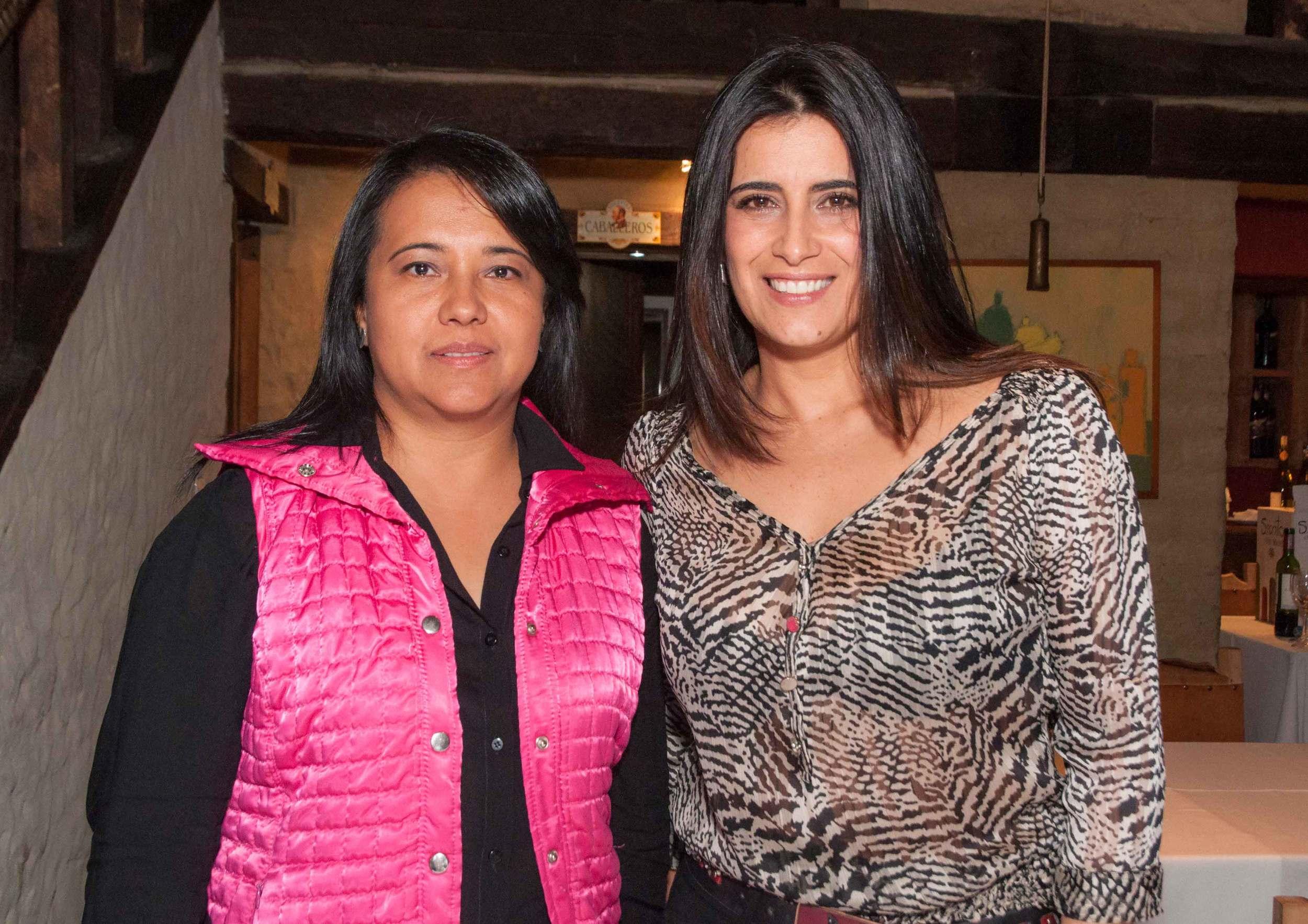 Claudia Vela y Cristina Giraldo