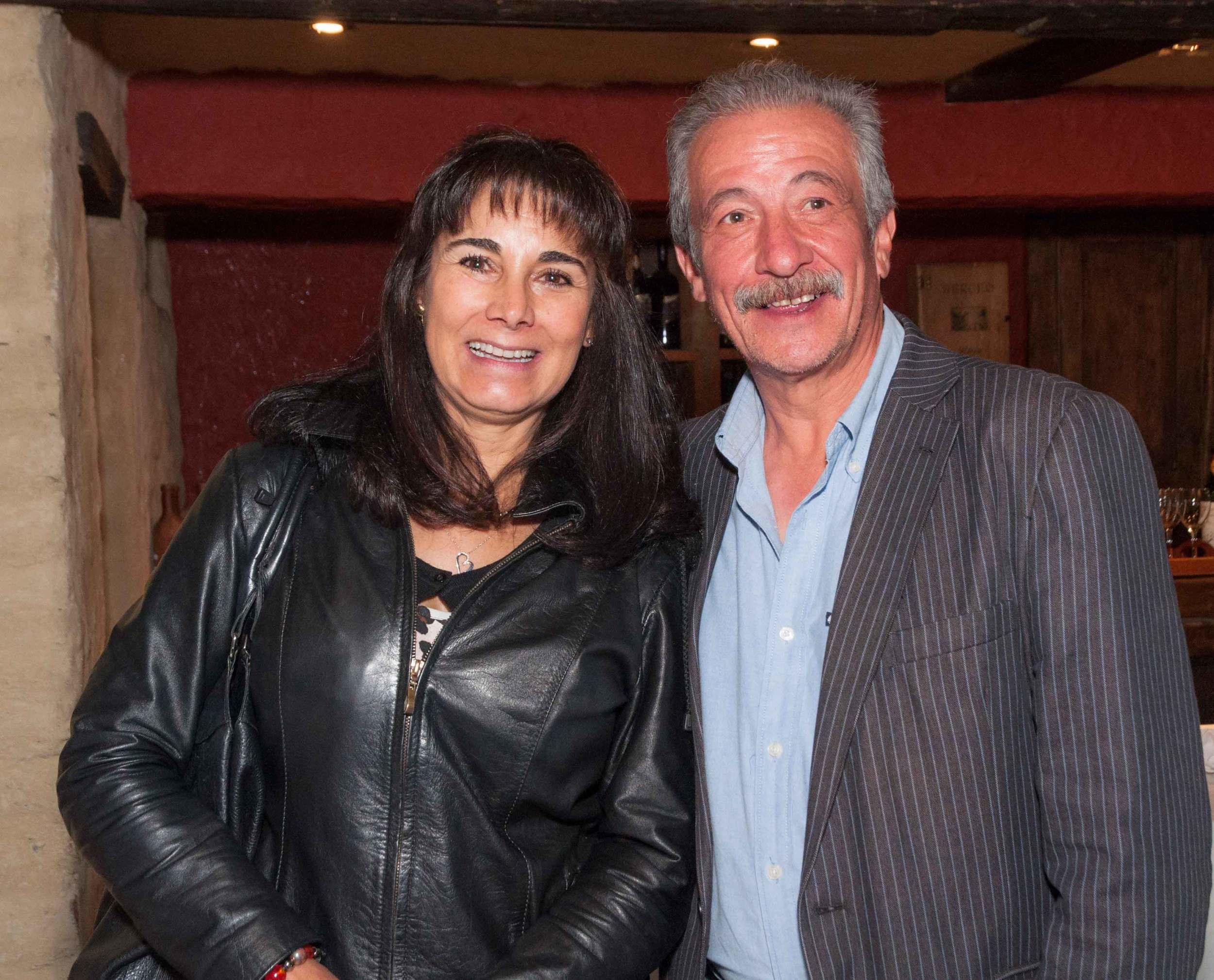 Marcela y Daniel Hernández