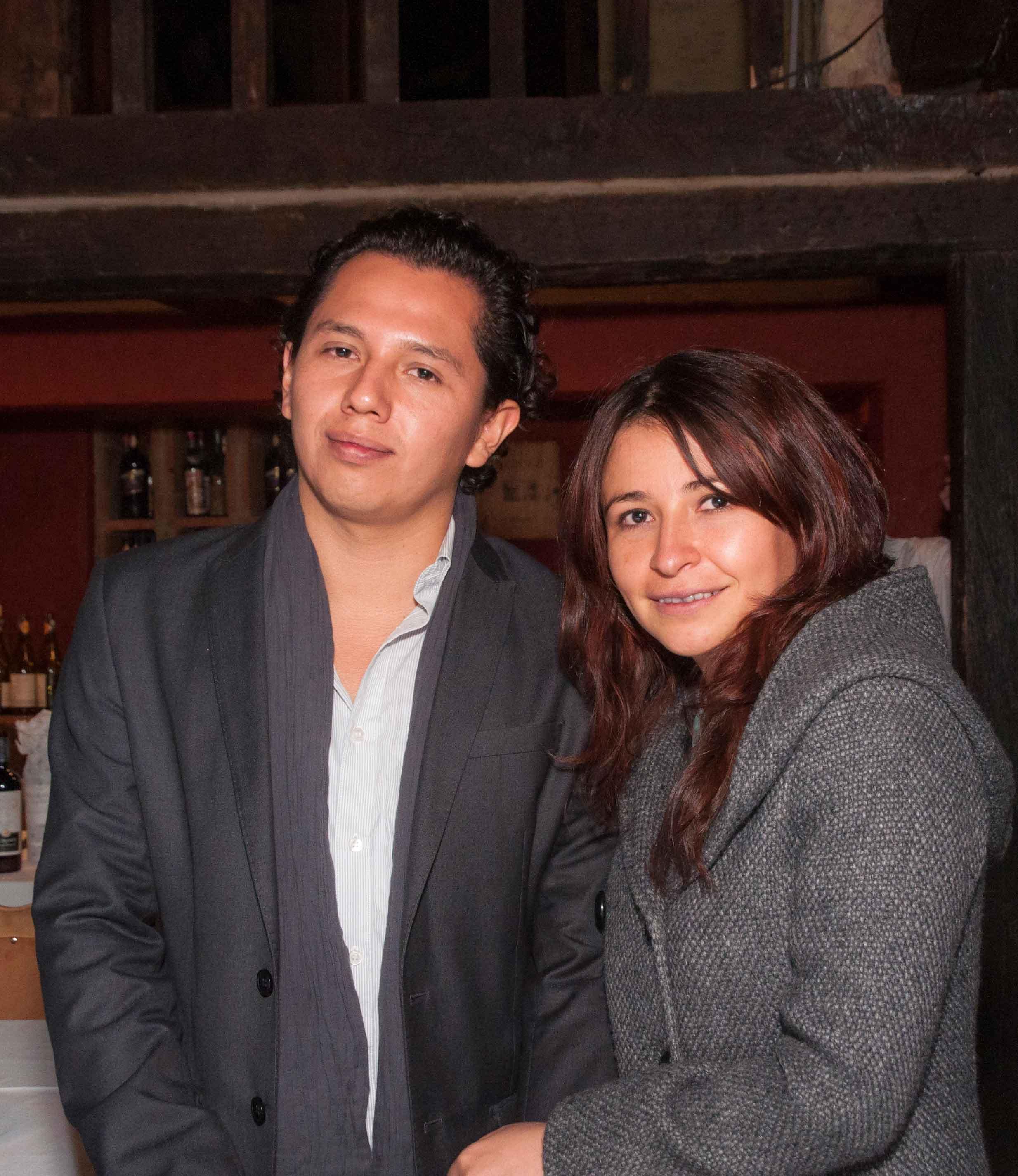 Julián Castro y Pilar Tinjacá