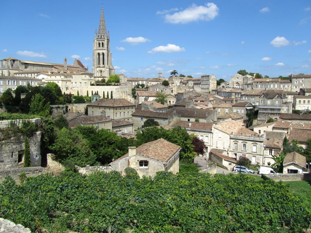 Saint-Émilion, patrimonio de la humanidad de la Unesco.