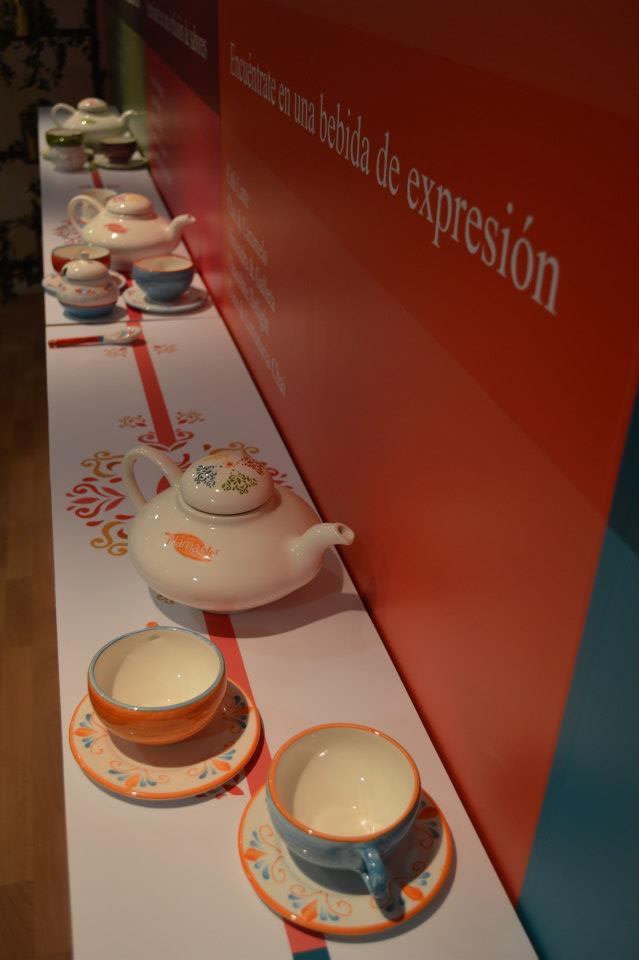 Namasté es un lugar colorido y fresco con tés para todos los gustos.