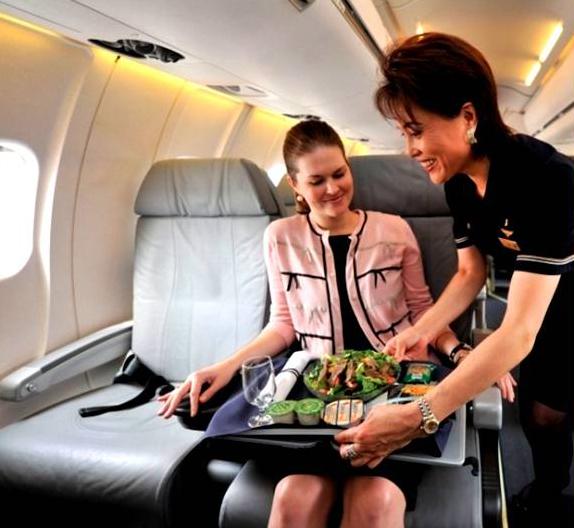 American Airlines, comodidad para los ejecutivos que se la pasan a bordo de un avión.