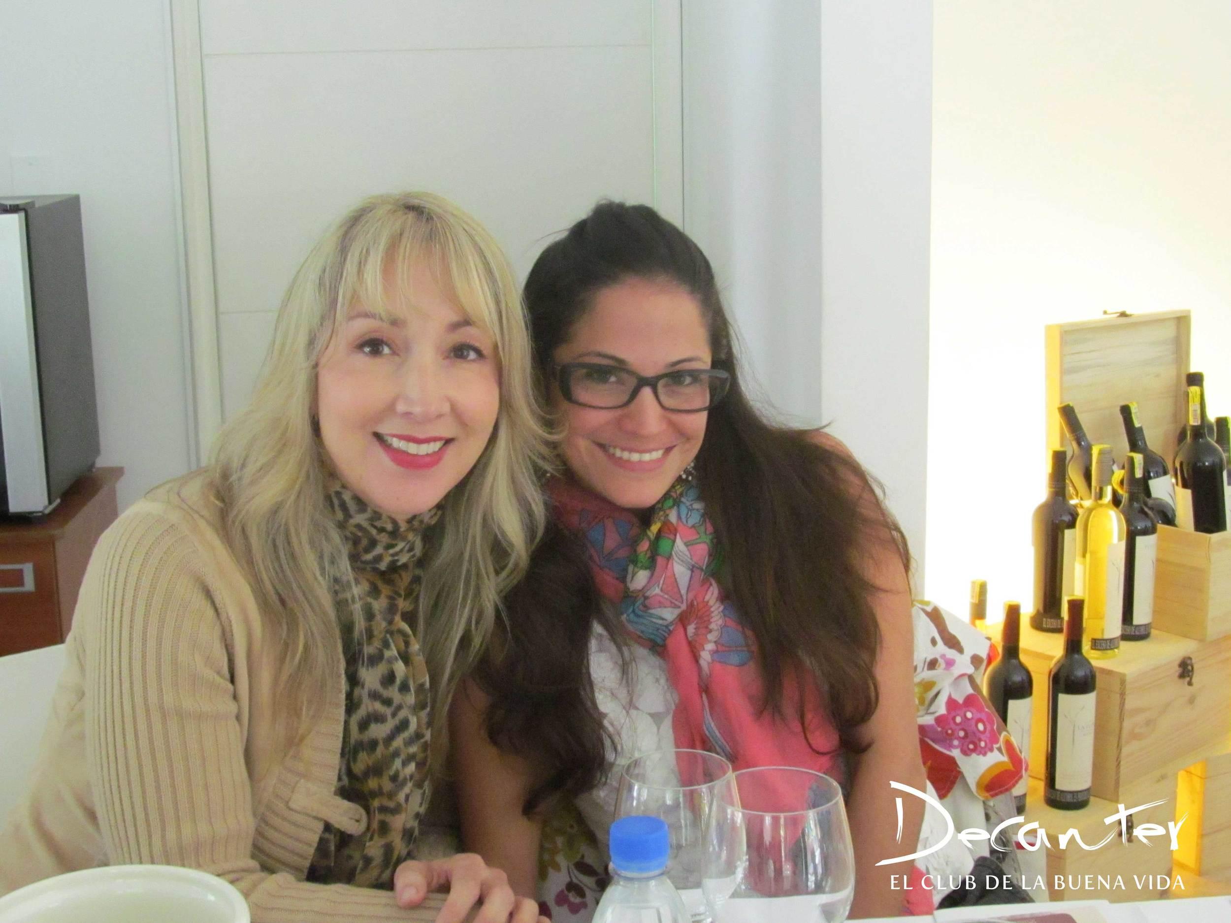 Laura Castro del restaurante Le Coq y Natalia García de Nagato.