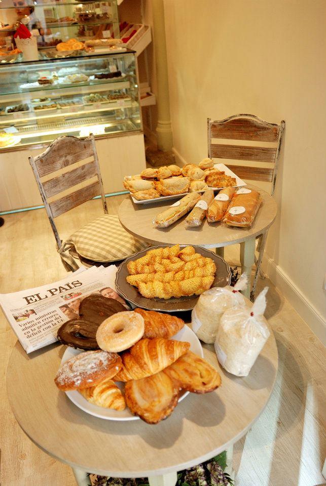 Maria's Bakery en Madrid, España.