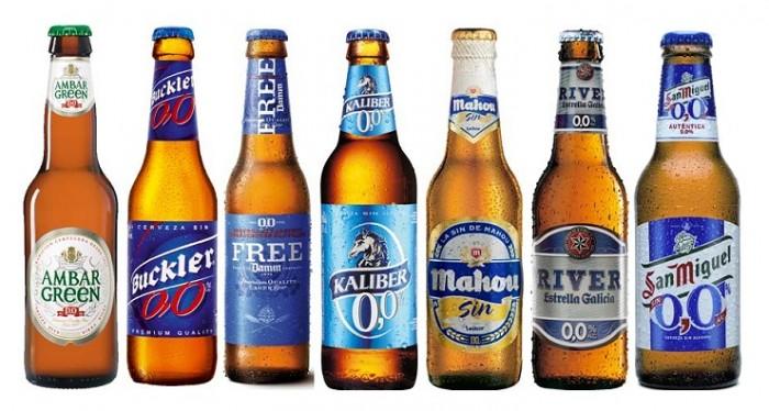 Las hay sin nada de alcohol, o con un contenido mínimo del mismo.