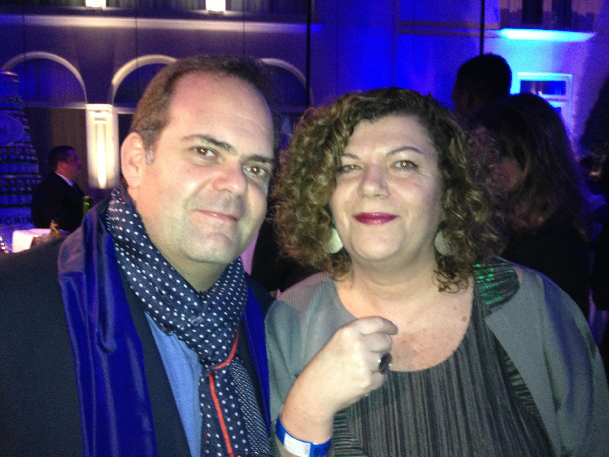 Harry Sasson y Raquel Rosemberg.