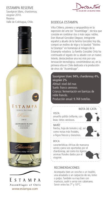 Estampa Reserve Sauvignon Blanc, Chardonnat, Viognier 2010.jpg