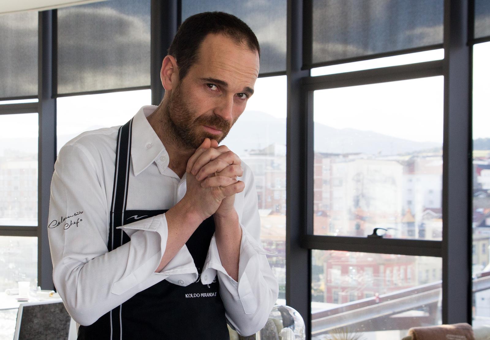 Fotos: cortesía.  Koldo Miranda suma en su carrera una estrella Michelin y un sol Repsol, que premia a los mejores cocineros y restaurantes de España.