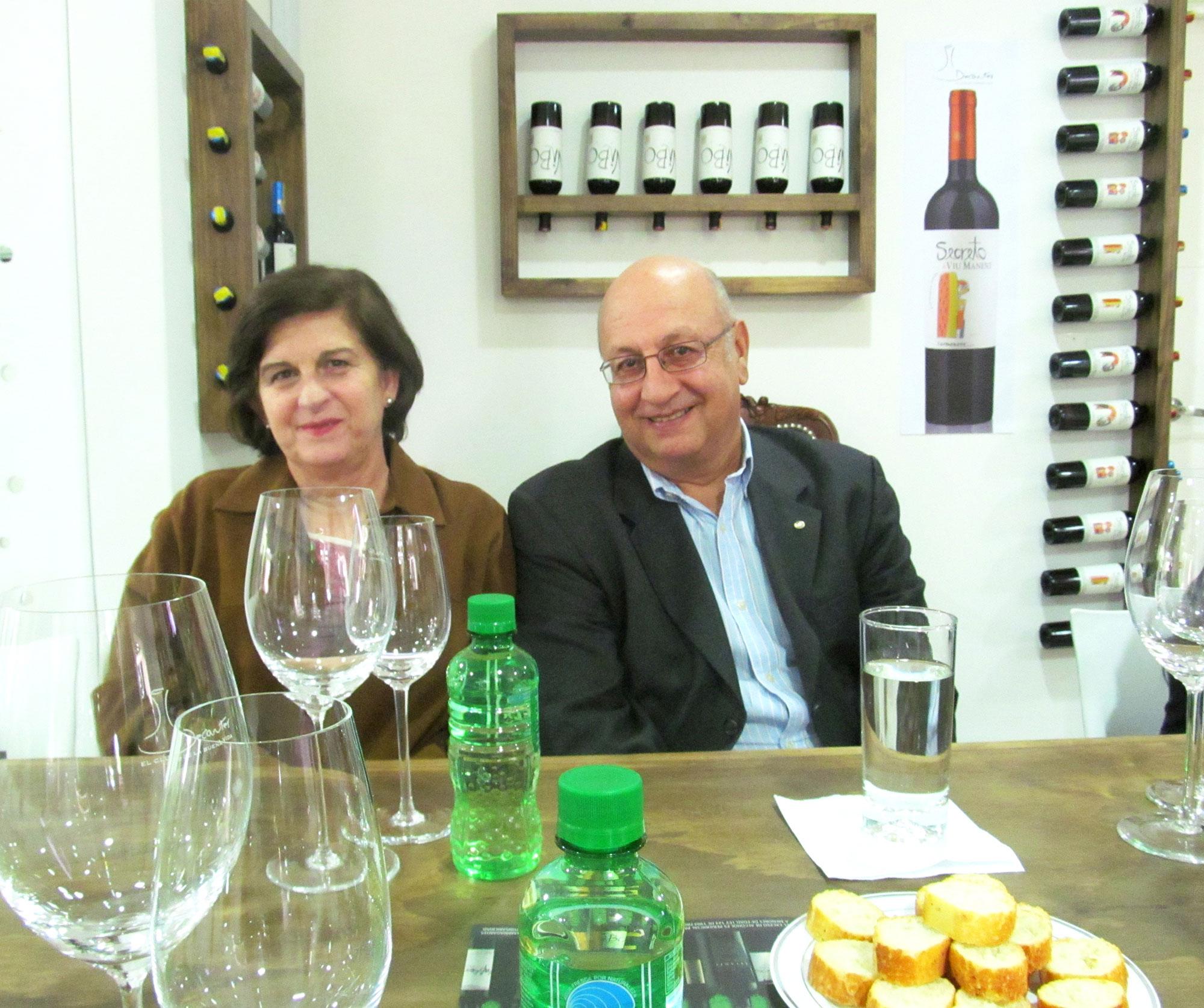 Eduardo de la Cruz y María Isabel Andrade.