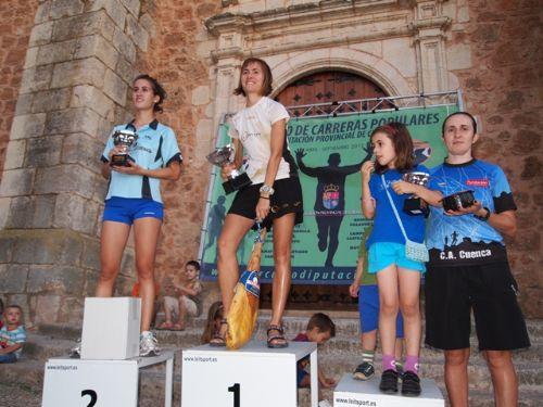 Vino y jamón forman parte de los premios en la Carrera del vino de Casas de Benítez, Cuenca.