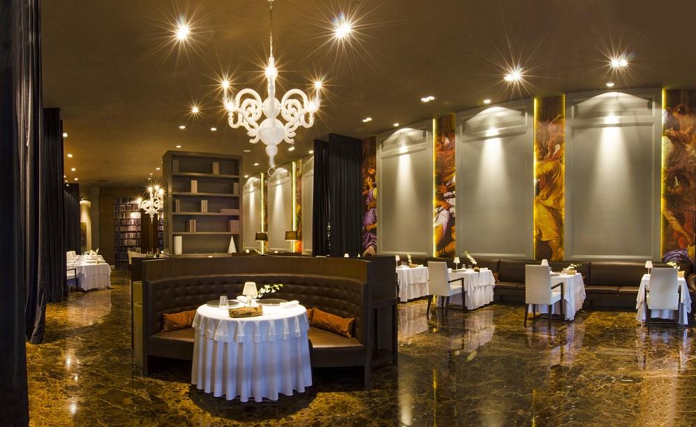 restaurante Passion, en el hotel Paradisus Resort Playa del Carmen, México
