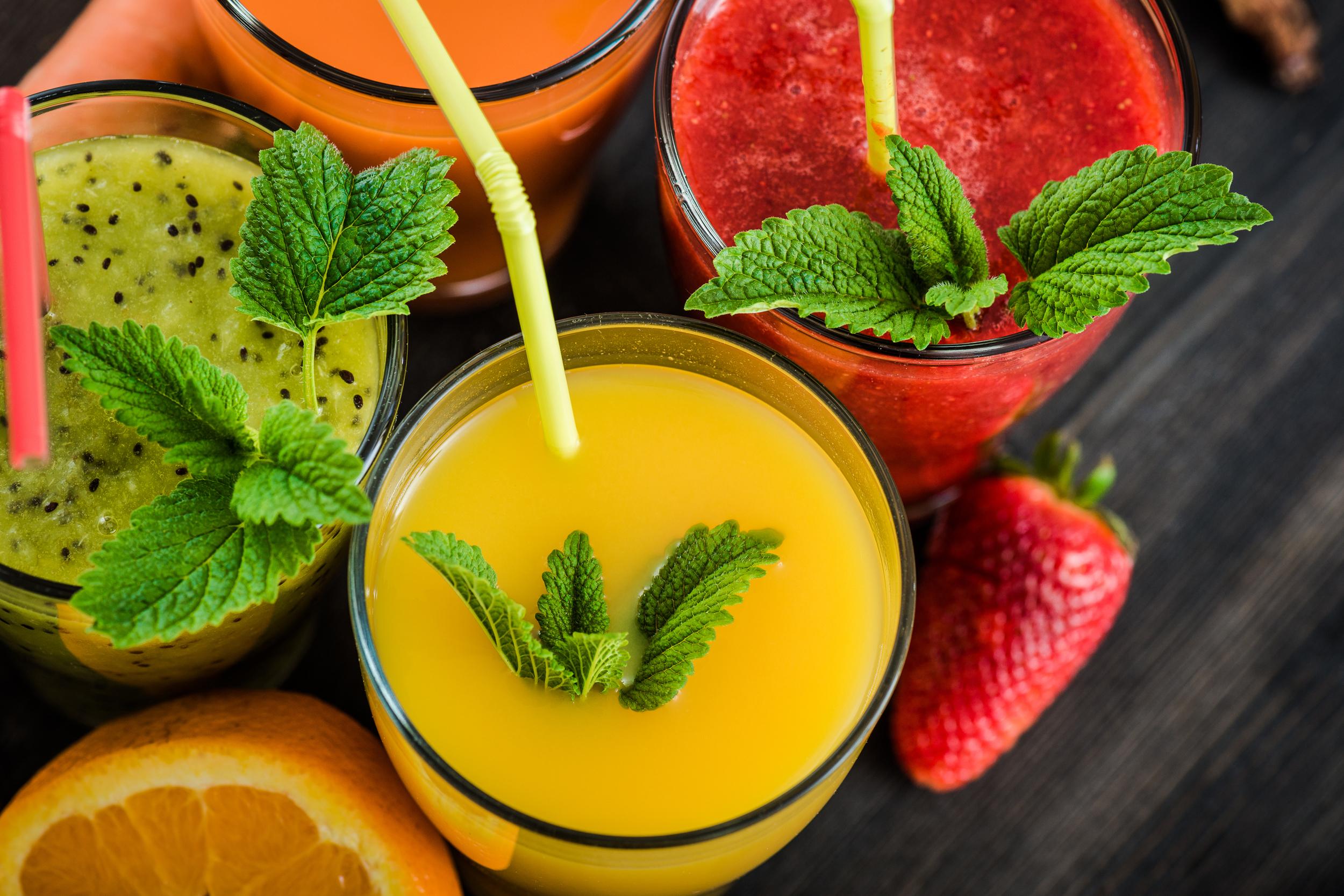 Smoothies frutas