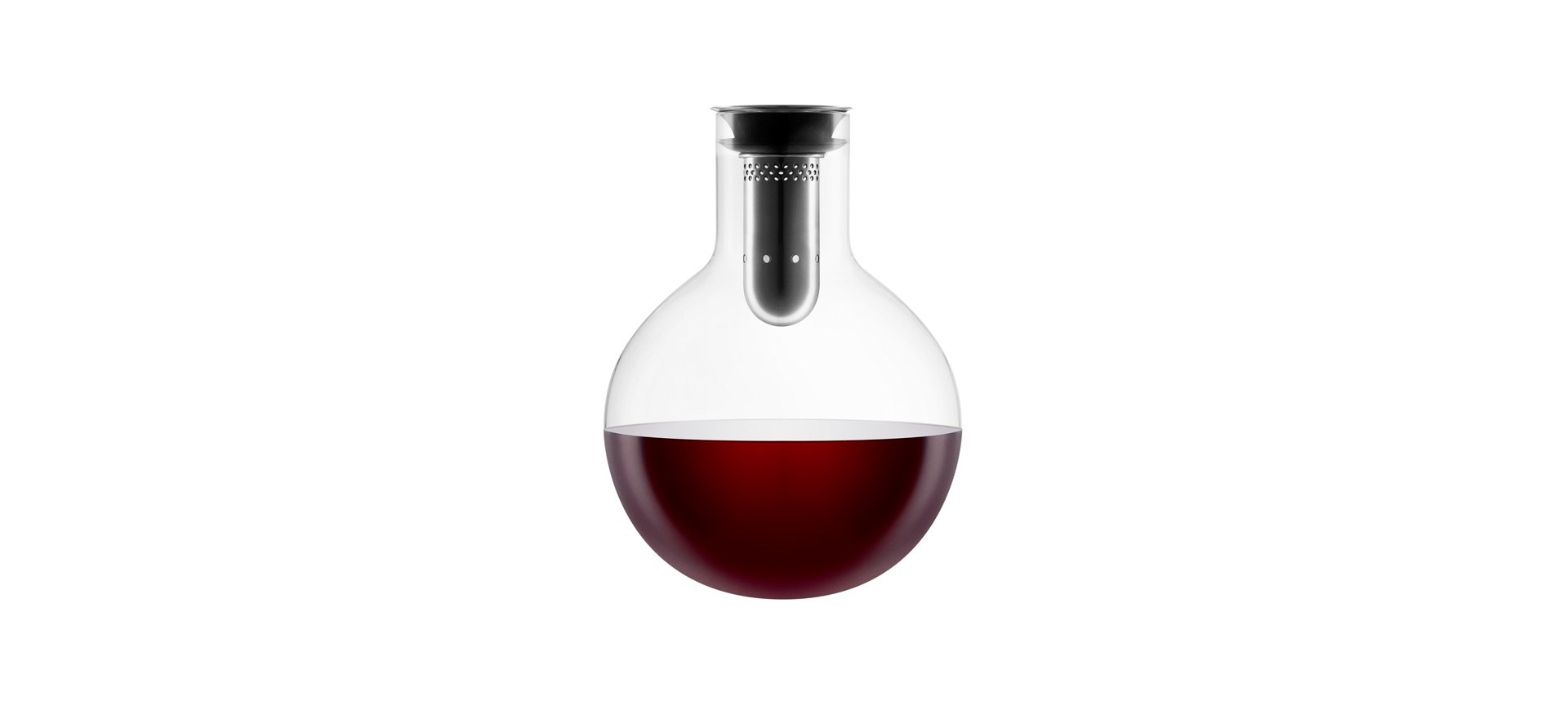 El decantador tiene un valor comercial de 54.95 euros. Foto tomada de www.evasolo.com